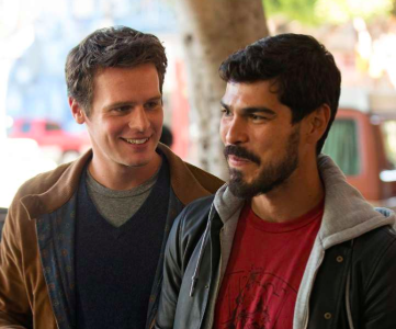 Jonathan Groff and Raúl Castillo in 'Looking' (HBO)