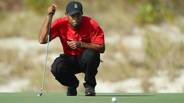 Tiger Woods will return to golf next month in the Bahamas. (AP)