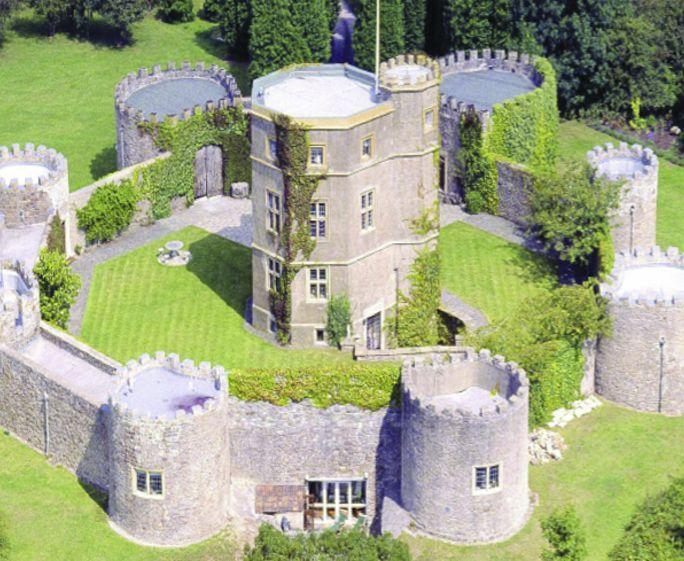 """<p>Formally an Iron Age hill fort, Walton Castle is a scene-stealing <a href=""""https://www.countryliving.com/uk/homes-interiors/property/a34984814/property-links-to-charles-darwin-for-sale-oxfordshire/"""" rel=""""nofollow noopener"""" target=""""_blank"""" data-ylk=""""slk:property"""" class=""""link rapid-noclick-resp"""">property</a> with its own swimming pool, seven turrets, a private courtyard, original stone walls and stunning gardens, too. With space for 16 guests, it's ideal if you're looking for a long weekend affair with the whole family. </p><p><a class=""""link rapid-noclick-resp"""" href=""""https://big-cottages.com/properties/united-kingdom/england/north-somerset/clevedon/quaint-clevedon-cottage-s59606"""" rel=""""nofollow noopener"""" target=""""_blank"""" data-ylk=""""slk:MORE INFO"""">MORE INFO</a></p>"""