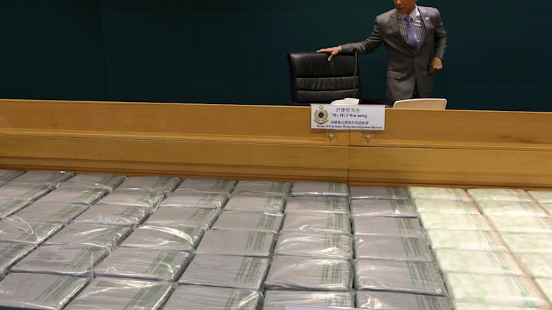 Customs officers smash Hong Kong drugs ring and seize HK$100 million