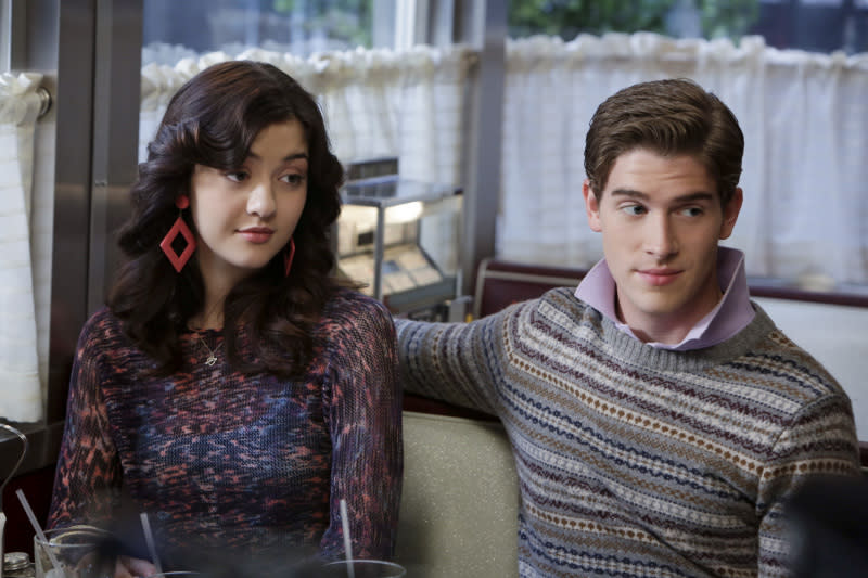 """Dangerous Territory"" -- Katie Findlay as Maggie and Brendan Dooling as Walt"