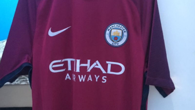 Manchester city new kit leaked celebrity