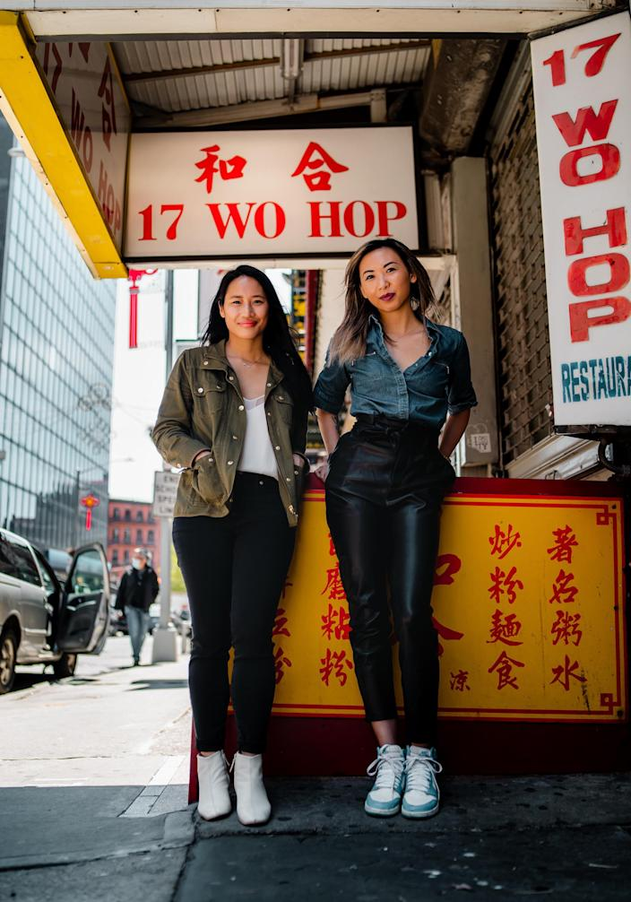 From left: Welcome to Chinatown co-founders Jen Tam and Victoria Lee / Credit: Brandon Romulus