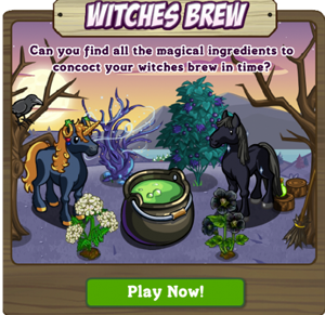 FarmVille Haunted Hollow Witches Brew