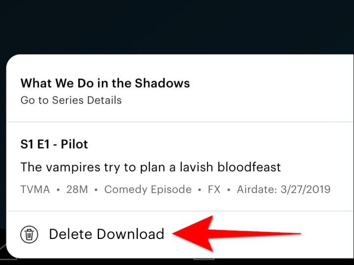 Hulu Delete Download