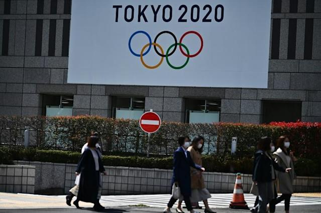 The IOC and 32 international sports federations held a teleconference where it was decided to respect the qualification process for the delayed Tokyo Olympics (AFP Photo/CHARLY TRIBALLEAU)