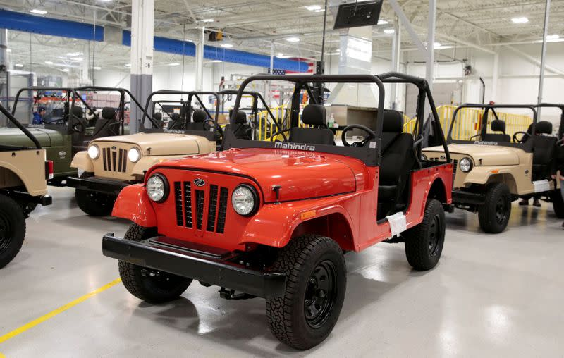 U.S. regulator sides with FCA in Jeep trade case against Mahindra