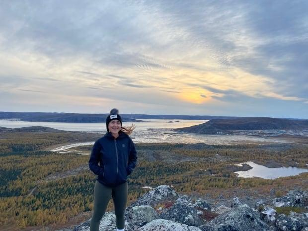 Andrea Brazeau, an Inuk elementary school teacher from Kangiqsualujjuaq in Nunavik, began calling for the government to address the lack of internet in Quebec's north while a student at McGill.  (Submitted by Andrea Brazeau - image credit)