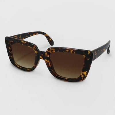 <p>The <span>A New Day Print Cateye Plastic Sunglasses</span> ($15) will guide you through all your city adventures.</p>