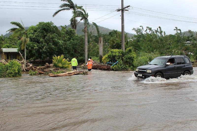 Pacific islands nations faced huge bills to rebuild after a category five cyclone slammed into the parts of the region in February