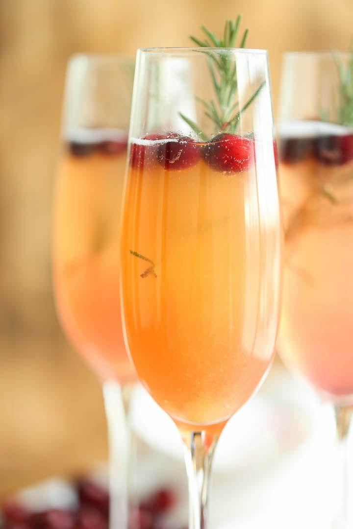 """<p>Overestimated how much sparkling wine your guests would drink? Use leftovers to create a light cranberry mimosa to start the day.</p><p><strong>Get the recipe at <a href=""""http://damndelicious.net/2015/12/08/cranberry-mimosa/"""" rel=""""nofollow noopener"""" target=""""_blank"""" data-ylk=""""slk:Damn Delicious"""" class=""""link rapid-noclick-resp"""">Damn Delicious</a>.</strong></p>"""