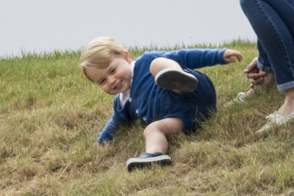 """<p>When Prince George was born back in 2013, the New Zealand government sent a shawl made from fine merino wool—the same gift the Duke of Cambridge received over three decades ago. He also received <a href=""""http://people.com/royals/what-fabulous-gifts-did-prince-george-receive-in-2014/"""" rel=""""nofollow noopener"""" target=""""_blank"""" data-ylk=""""slk:610 unofficial presents"""" class=""""link rapid-noclick-resp"""">610 unofficial presents</a> and his gifts were displayed at the <a href=""""https://www.forbes.com/sites/valeriedenny/2014/07/23/prince-georges-gifts-displayed-in-royal-childhood-exhibit-at-buckingham-palace/#464202972a6b"""" rel=""""nofollow noopener"""" target=""""_blank"""" data-ylk=""""slk:&quot;Royal Childhood&quot; Buckingham Palace exhibit"""" class=""""link rapid-noclick-resp"""">""""Royal Childhood"""" Buckingham Palace exhibit</a>. </p>"""