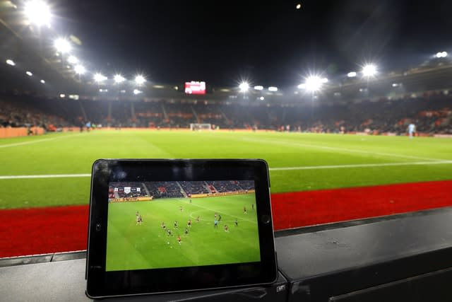 Online streaming giants want to change the way viewers watch sport (Steven Paston/PA)