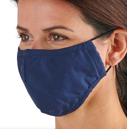 "<h3>Hammacher Schlemmer The Antibacterial Cooling Face Mask</h3><br><strong>Size range:</strong> One size<br><br>Unlike masks that trap heat and sweat, this mask is lined with a breathable technical fabric that allows moisture to escape and remains cool against the skin. It's also got adjustable earloops and an inner pocket so it can be worn with or without the disposable filter.<br><br><strong>Hammacher Schlemmer</strong> The Antibacterial Cooling Face Mask, $, available at <a href=""https://go.skimresources.com/?id=30283X879131&url=https%3A%2F%2Fwww.hammacher.com%2Fproduct%2Fantibacterial-cooling-face-mask"" rel=""nofollow noopener"" target=""_blank"" data-ylk=""slk:Hammacher Schlemmer"" class=""link rapid-noclick-resp"">Hammacher Schlemmer</a>"