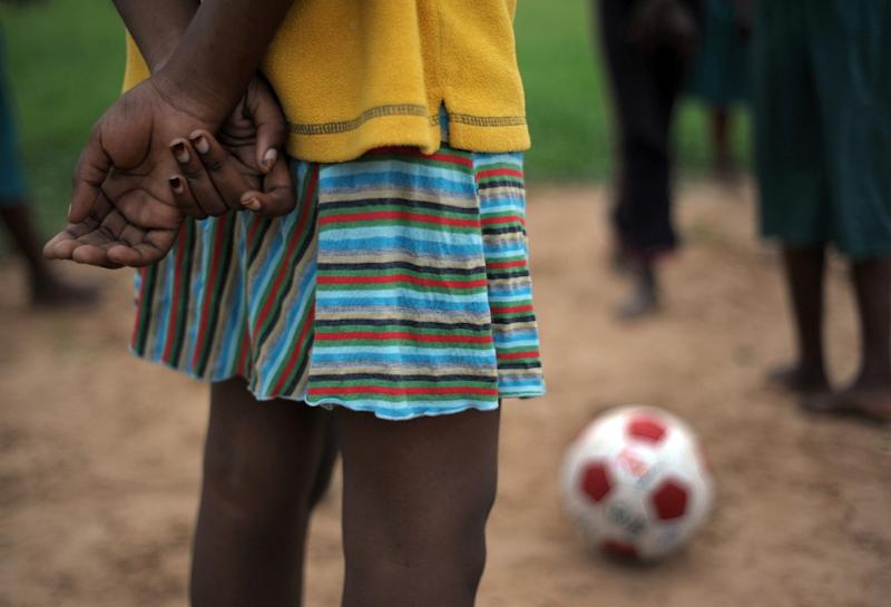"""Millions of """"child brides"""" across Africa are married before their 18th birthday (AFP Photo/Tony Karumba)"""