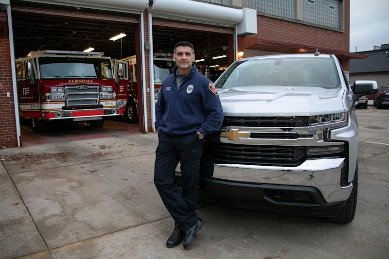 Sgt. Miles Bracali of the Ferndale Fire Department bought his 2020 Chevrolet Silverado with the help of personal dealer Brian Carroll Automotive Group. Brian Carroll works with clients to find for them exactly what they are looking for in a vehicle without them having to shop on their own.
