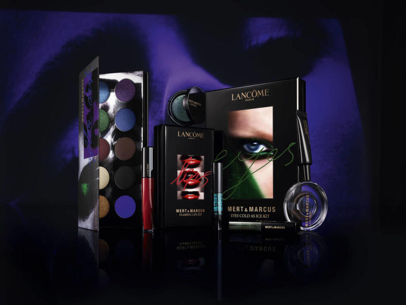 Mert & Marcus team up with Lancome on make-up collection