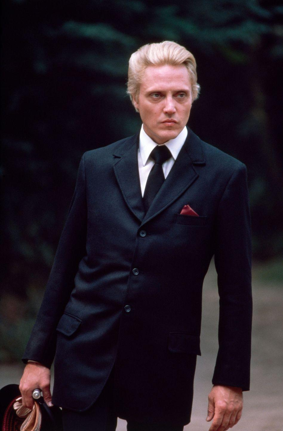 <p>Christopher Walken on the set of A View to a Kill.</p>