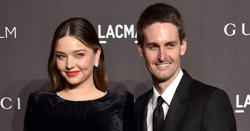 Saving Evan Mother And Son Navigate >> Miranda Kerr Expecting Second Child With Husband Evan Spiegel 10