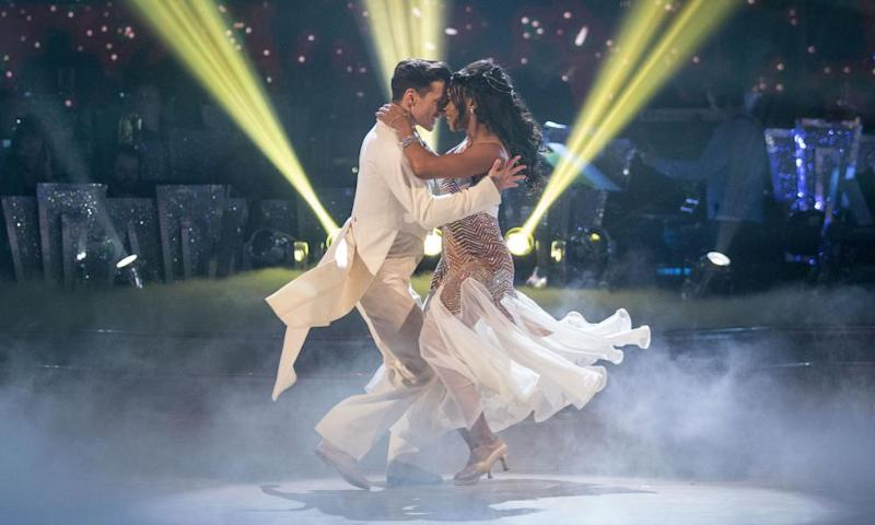 Alexandra Burke and Gorka Marquez on Strictly