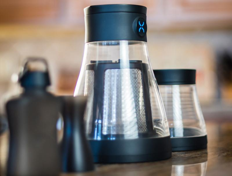 """<p>This machine may look a little intimidating, but you just add coffee and water, then brew and flip. The bottom becomes an easy storage vessel for your finished product.</p><p>$69 