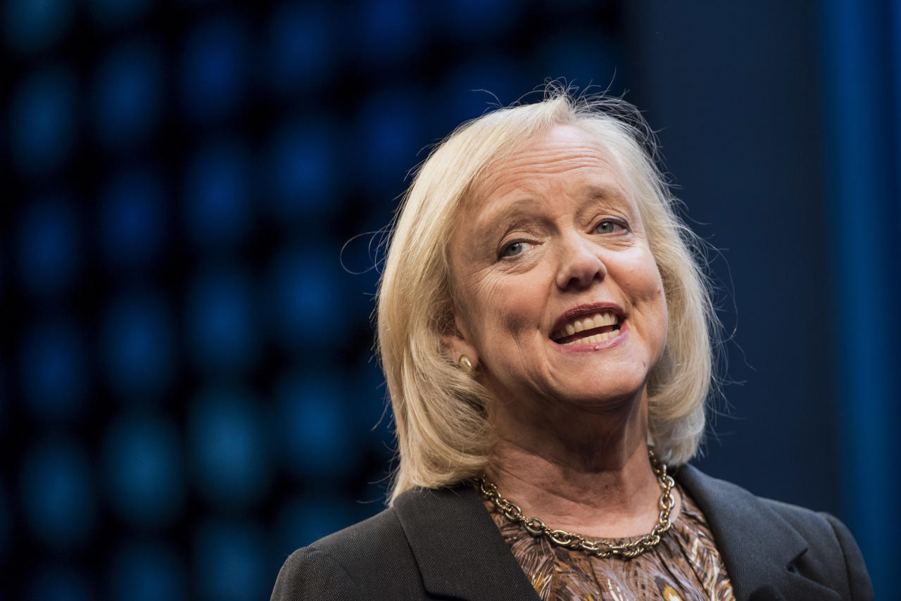 Hewlett Packard Enterprise Chief Meg Whitman Joins Dropbox Board