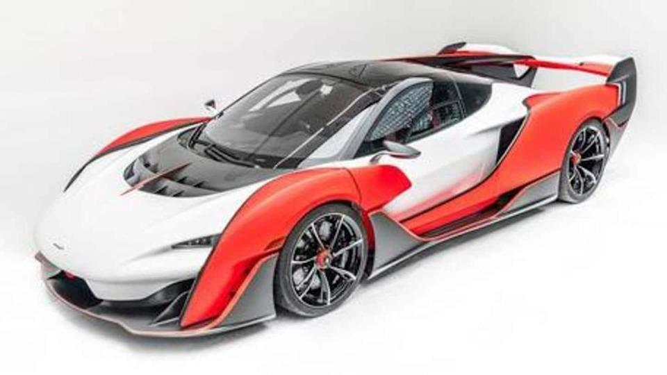 Limited-run McLaren Sabre hypercar revealed in the US: Details here