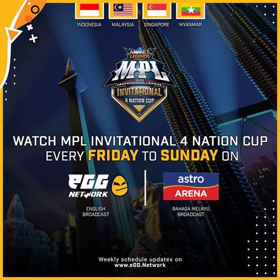 MLBB Professional League Invitational 4 Nation Cup