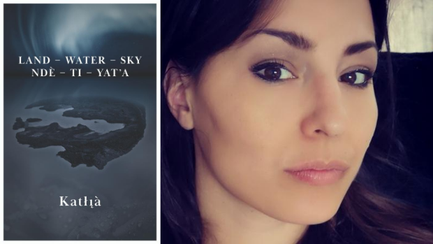 Land-Water-Sky / Ndè–Tı–Yat'a has been nominated for an Indigenous Voices Award in the fiction published in English category. (Fernwood Publishing - image credit)