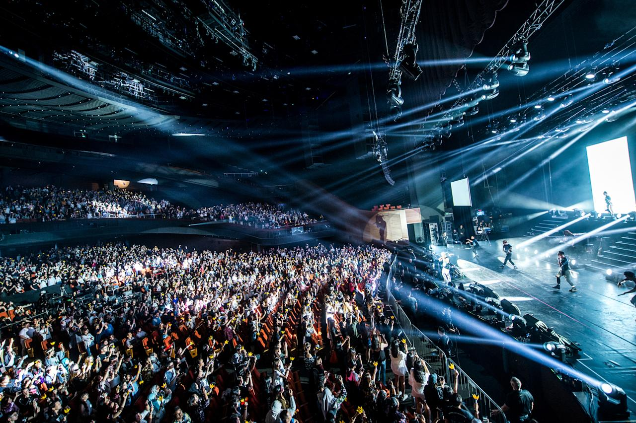 <p>BIGBANG TAEYANG's White Night concert tour in Singapore (Photo: YG Entertainment) </p>