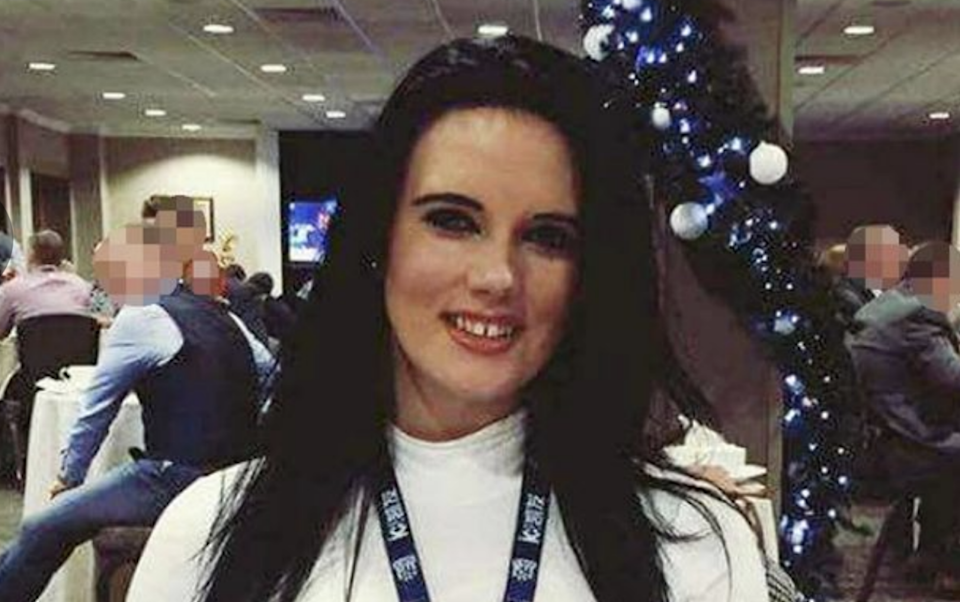 John Broadhurst admitted manslaughter with gross negligence over the death of his girlfriend Natalie Connolly (pictured) in December 2016 following a drink and drug fuelled 'rough sex' session.