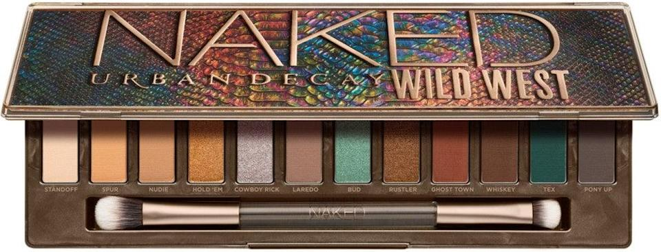 """<h2>Urban Decay<br></h2><br>Some might be surprised to find out this major brand is entirely cruelty-free and committed to ending animal testing in the beauty market. Now, you can swatch on your Naked collection guilt-free.<br><br><strong>Urban Decay</strong> Naked Wild West Eyeshadow Palette, $, available at <a href=""""https://go.skimresources.com/?id=30283X879131&url=https%3A%2F%2Fwww.ulta.com%2Fp%2Fnaked-wild-west-eyeshadow-palette-pimprod2022436"""" rel=""""nofollow noopener"""" target=""""_blank"""" data-ylk=""""slk:Ulta Beauty"""" class=""""link rapid-noclick-resp"""">Ulta Beauty</a>"""