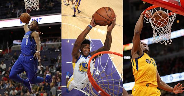 Just picture these rookies trying to out-do each other in L.A. (Getty Images)