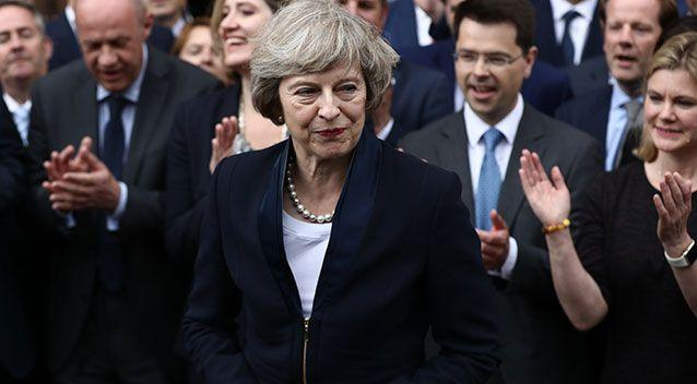 Theresa May becomes the first female UK Prime Minister since Margaret Thatcher. Photo: Getty Images