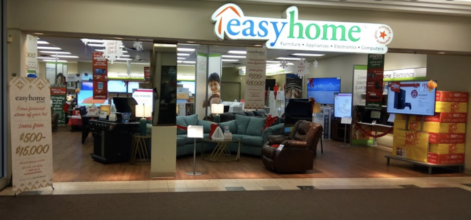 easyhome location inside a mall