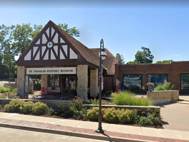 The St. Charles History Museum is now open to groups of up to 10 people.