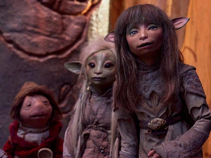 Rian Deet and Hup The Dark Crystal Age of Resistance Netflix Kevin Baker
