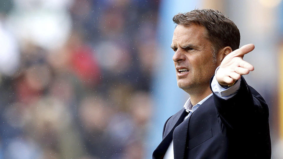 Frank de Boer has paid the price for Palace's terrible start to the season