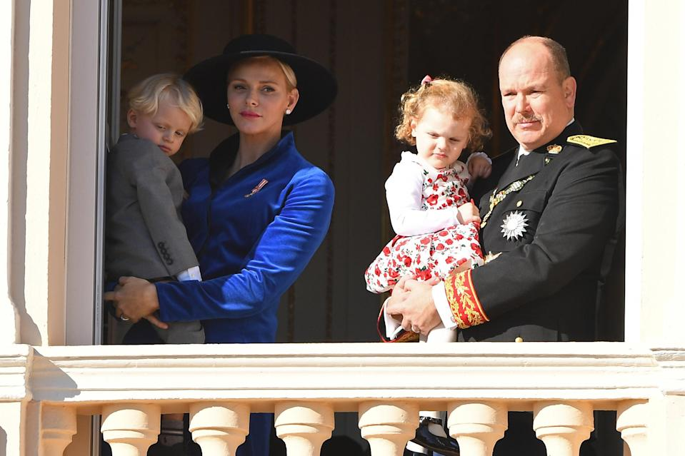 <p>The House of Grimaldi reigns over Monaco and is ruled by Albert II and his wife, Charlène de Monaco. The couple share two children together, Jacques and Gabriella. <em>[Photo: Getty]</em> </p>