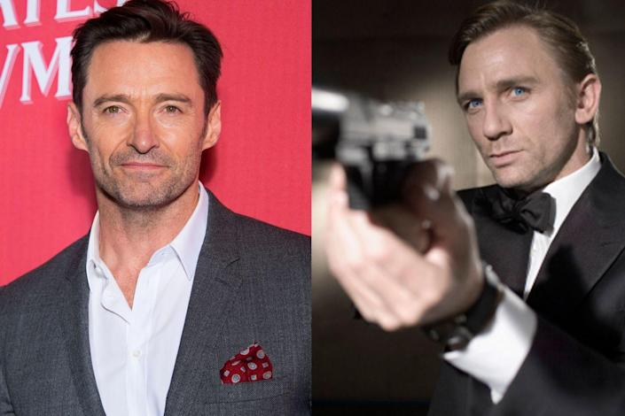 """<p>Jackman <a href=""""http://variety.com/2017/film/features/hugh-jackman-the-greatest-showman-logan-1202629864/"""" rel=""""nofollow noopener"""" target=""""_blank"""" data-ylk=""""slk:told Variety"""" class=""""link rapid-noclick-resp"""">told <em>Variety</em></a> that when the search was on for a new James Bond to follow Pierce Brosnan in <em>Casino Royal</em>e, a call came asking if he'd be interested. He wasn't. """"I just felt at the time that the scripts had become so unbelievable and crazy, and I felt like they needed to become grittier and real,"""" he said. """"And the response was: 'Oh, you don't get a say. You just have to sign on.' I was also worried that between <em>Bond</em> and <em>X-Men</em>, I'd never have time to do different things.""""</p>"""