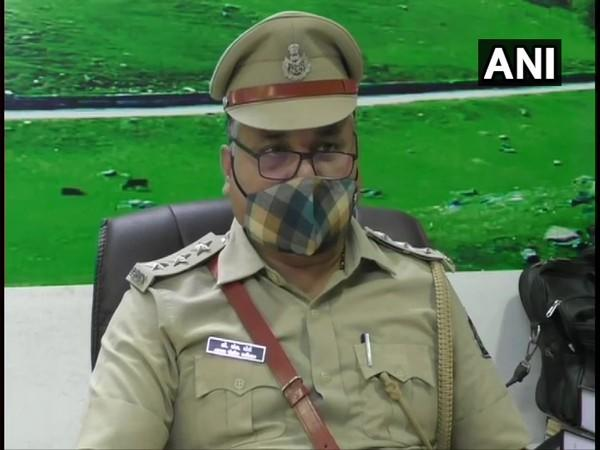 Navsari Deputy Superintendent of Police BS Mori speaking to ANI on Friday. (Photo/ANI)