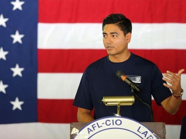 Democrat Aftab Pureval, Hamilton County clerk of courts, is challenging Rep. Steve Chabot (R-Ohio) in Ohio's 1st district. (Aftab Pureval Campaign)