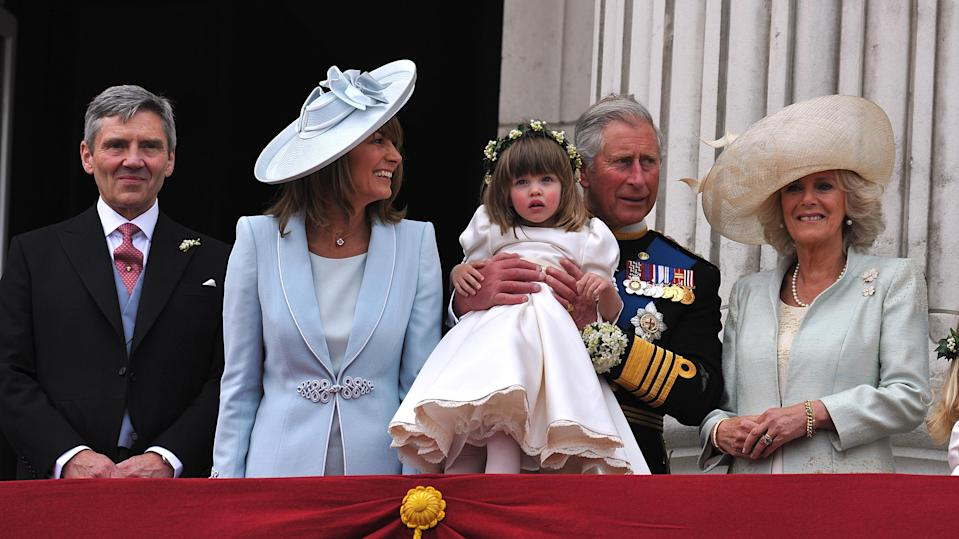 By 2011, it appears the family had mended any feuds, as when Prince William and Kate Middleton decided to wed, they had Laura's adorable daughter Eliza as their flower girl. Photo: Getty Images