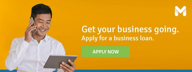 Apply for a business loan!