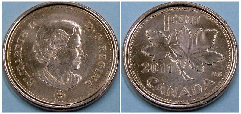 Canada's government on Thursday announced its intention to withdraw the penny from circulation