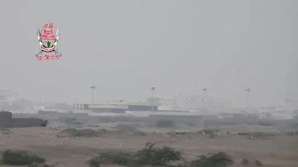 "<p>Saudi-led coalition forces and Houthi militias battled for control of the airport in the Yemeni port city of Hodeidah on June 17. Coalition airstrikes were reported by local witnesses and pro-Houthi media, which <a href=""https://twitter.com/MasirahTV/status/1008382380707663872"" target=""_blank"">said</a> civilians were killed.</p><p>Anwar Gargash, the foreign affairs minister of the <span class=""caps"">UAE</span>, part of the coalition, was quoted on June 18 as saying the fall of the airport was ""just a matter of time"" and that coalition troops were ""advancing with caution.""</p><p>Hodeidah port is the main source of imports and food aid for Yemen. Adama Dieng, the United Nations' special adviser on the prevention of genocide, said the fighting in Hodeidah could have ""a potentially disastrous impact on civilians,"" at least 10 million of whom are at risk of famine.</p><p>This footage was shared a pro-coalition account and shows the forces at Hodeidah airport. Credit: West Coast Front via Storyful</p>"