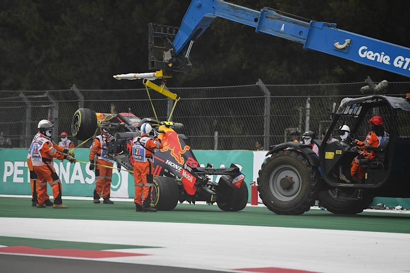 Red Bull thin on spare parts after Albon FP2 crash