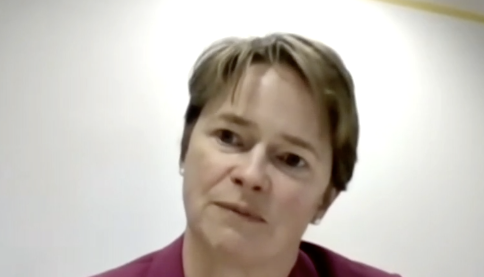 Dido Harding said about 20,000 people a day contacted by Test and Trace are not self-isolating. (Parliamentlive.tv)
