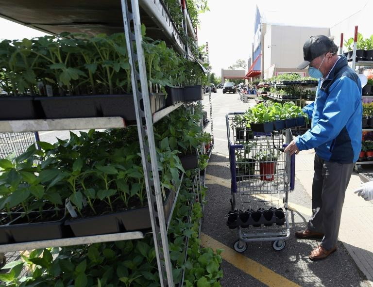 People have been spending more on their gardens during the pandemic as well