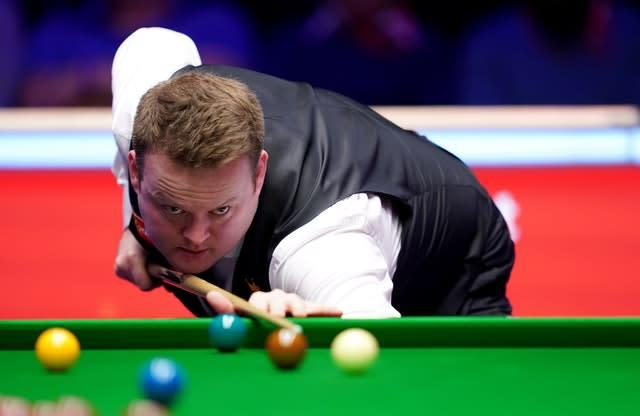 Shaun Murphy in action against Judd Trump (John Walton/PA)